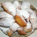 Пончики с кремом и хрустики