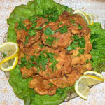 Рыба в кляре (айкакан кухня)