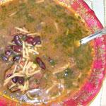Почов апур(суп с фасолью)