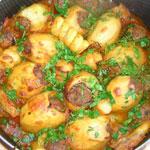 Картошка фаршированная (армянский рецепт)
